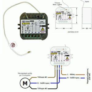 ilektronikos pinakas elegxoy me dekti gia rola 230 vac autotech- iq-1000