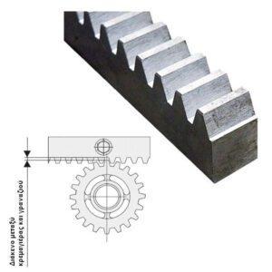kremagiera metalliki galbanize 100cm- rac-mod-6
