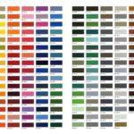 Πίνακας διαθέσιμων χρωμάτων